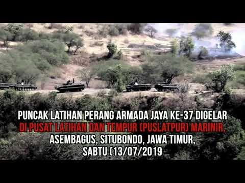 Puncak Latihan Tempur Armada Jaya : Pasukan Elit Marinir Jaga NKRI