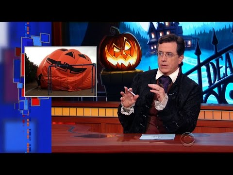 Colbert Delivers A Special Halloween Warning