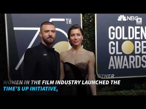 Why Stars Wore Black to the Golden Globes