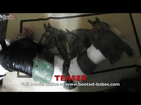 CHARDUST: Catsuit Wader Bondage