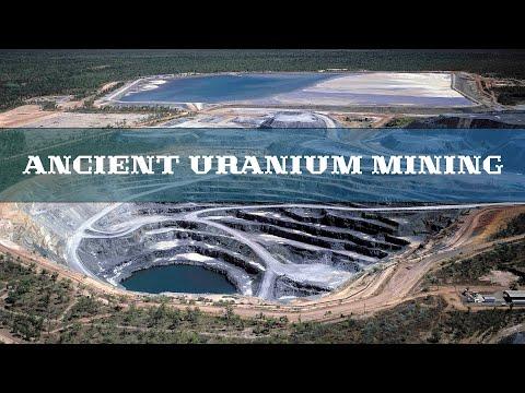 Ancient uranium mining