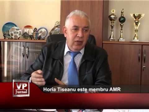 Primarul Horia Tiseanu este membru AMR