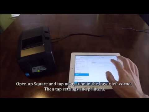 How to Pair Star TSP650II BTi Bluetooth Printer with iPad for Square