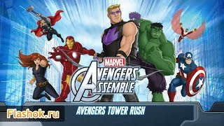 Видеообзор Avengers Tower Rush