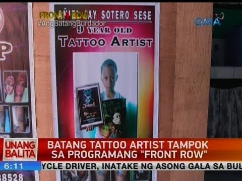 Video UB: Batang tattoo artist tampok sa programang