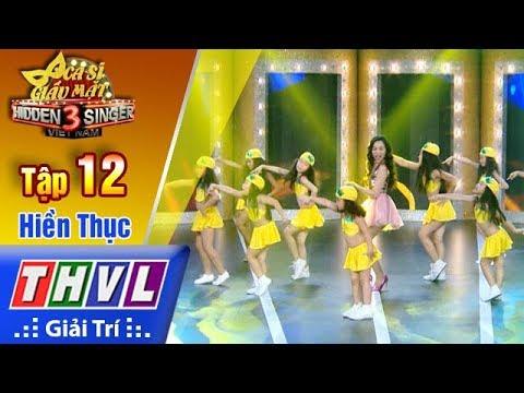 Ca sĩ giấu mặt 2017 Tập 12 Itsy Bitsy Teenie Weenie Yellow Polka Dot Bikini - Hiền Thục