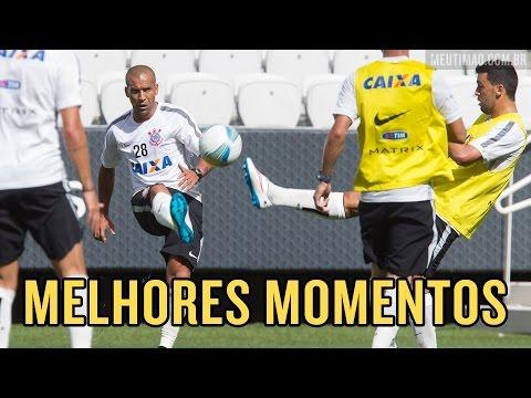 V�DEO: Melhores momentos do treino do Tim�o na Arena Corinthians, em 29/01/15