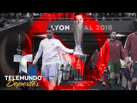 El jugador del Marsella víctima de la maldición | UEFA EUROPA LEAGUE | Telemundo Deportes