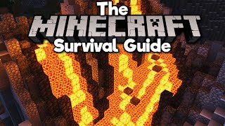 Building a Volcano with Nether Blocks! • The Minecraft Survival Guide (Tutorial Lets Play)[Part 326]