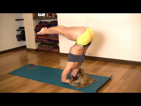 Core Strength in Headstand with Kino MacGregor video
