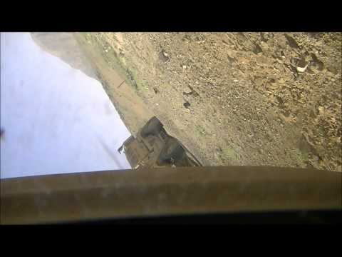 IED EXPLOSION FLIPS MRAP IN AFGHANISTAN - FAILED ATTACK