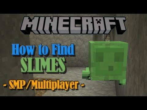 comment trouver un chunk a slime