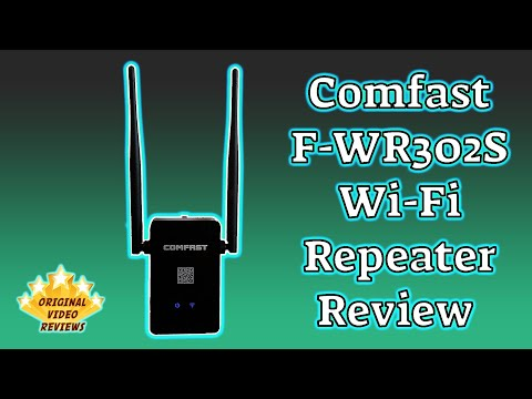 Item review - Comfast CF-WR302S Wireless Repeater