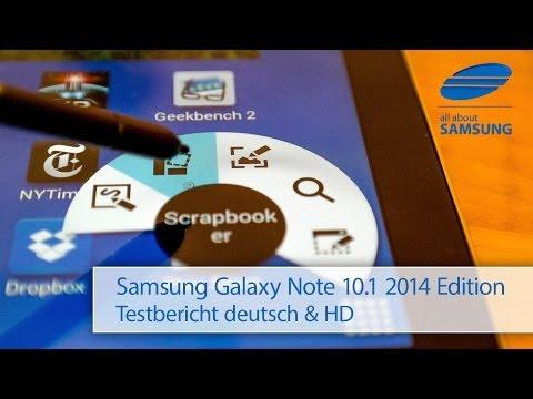Samsung Galaxy Note 10.1 2014 Edition SM-P605 Review Testbericht deutsch HD