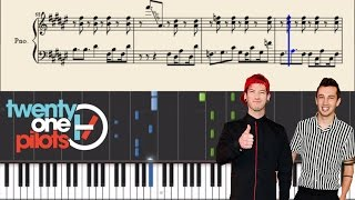 twenty one pilots: Fake You Out - Piano Tutorial + Sheets