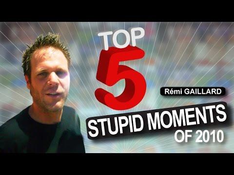 五個最愚蠢的時刻!也太笨了!
