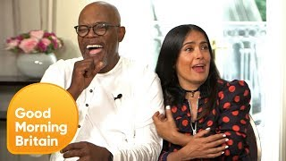 Subscribe now for more! http://bit.ly/1NbomQa Appearing alongside Samuel L Jackson to promote their new film The Hitman's...
