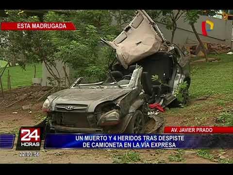 Familia de fallecida denunciará a conductora que provocó accidente en Vía Expresa