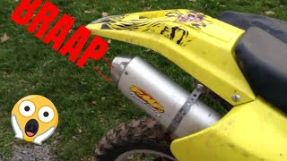 9. 2002 Drz-250 FMF Powercore 4