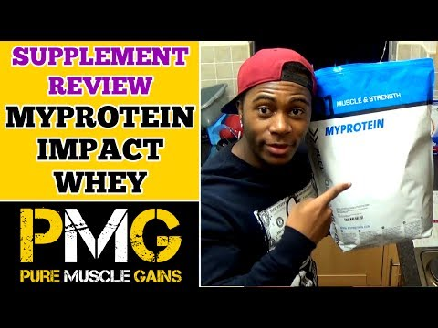 MyProtein Impact Whey Protein Supplement Review |  Bodybuilding on a Budget!