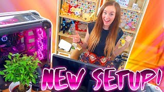 I've moved my setup! 🖥✨ Get ready to see a new background! Plus you can watch me take a trip to ❤IKEA❤ and then BUILD🛠 the whole set up! Enjoy 😊-🖥✨ My Stormforce PC:  http://bit.ly/2sgXhUQ 🎮 Capture your gameplay the same way I do! 👉  http://e.lga.to/clareTwitter: http://twitter.com/claresiobhanInstagram: http://instagram.com/clarecalleryThis video has been created and is owned by Clare Siobhan. This video is PG, family friendly and has no cursing or swearing! 💕