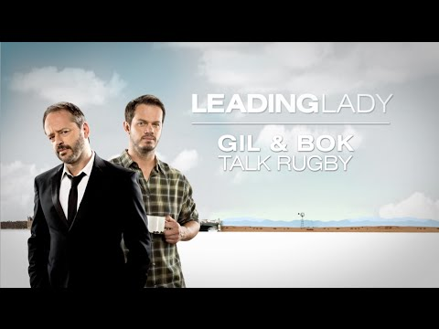 Bok praat rugby met Hollywood akteur Gil Bellows