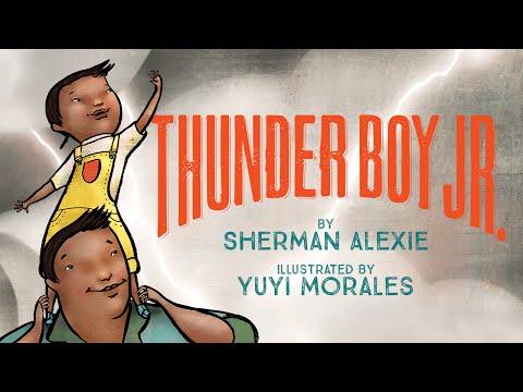 Thunder Boy Jr. by Sherman Alexie (2016, Picture Book)