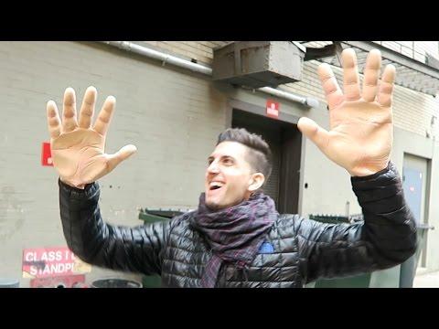 GIANT HANDS PRANK!