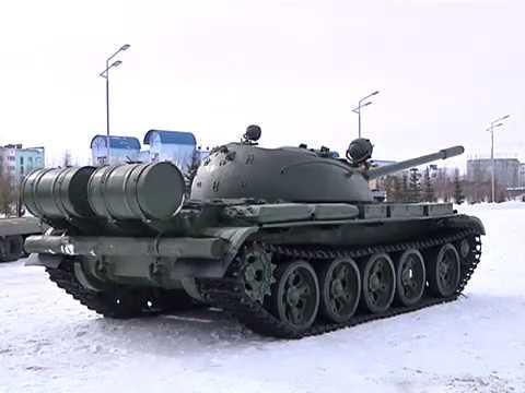 В Надымский район прибыла военная техника