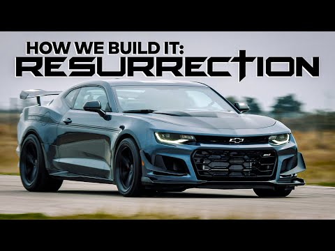1200 HP Camaro ZL1 1LE! // RESURRECTION by Hennessey