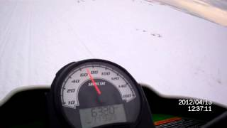 5. Arctic Cat Sno Pro 600 ''Top Speed Run''
