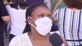Comunidade quilombola de Salto de Pirapora  é vacinada contra a Covid-19