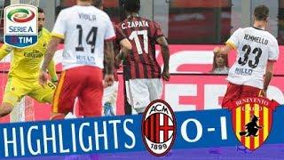 Video Milan - Benevento 0-1 - Highlights - Giornata 34 - Serie A TIM 2017/18 MP3, 3GP, MP4, WEBM, AVI, FLV Mei 2018