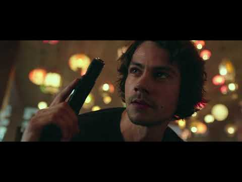 American Assassin HD 720p Bluray: car chase and fight scene