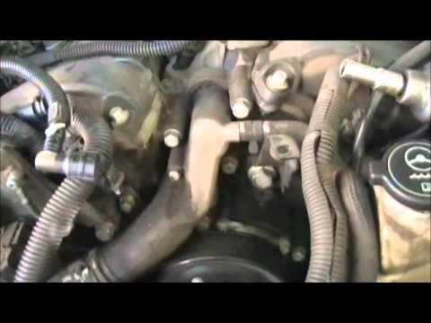 2004 Cadillac srx timing chain pt. 1.wmv