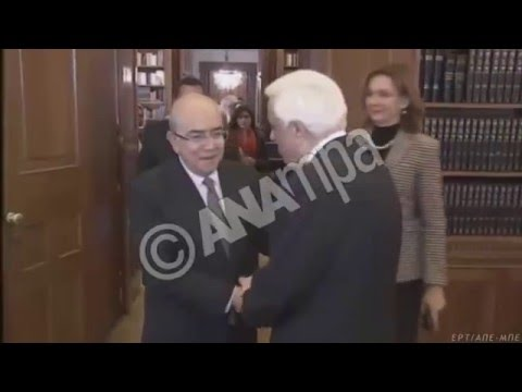 Συνάντηση του Προέδρου της Δημοκρατίας με τον Πρόεδρο της κυπριακής Βουλής