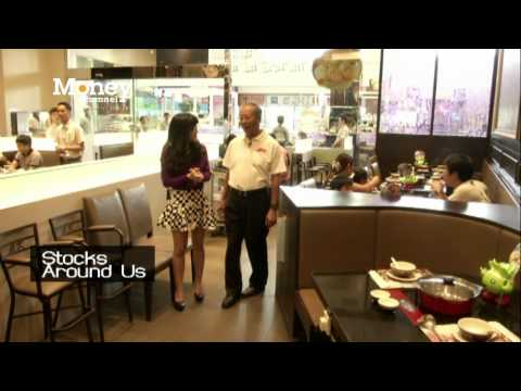 Eating at MK Restaurant… Thailand's #1 Suki Restaurant Business!