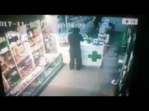 النشرة: مسلح يقتحم صيدلية بالدورة بداعي السرقة ويصيب صيدلي بقدميه
