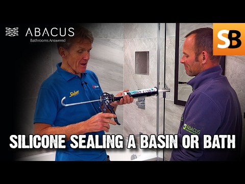 How to Silicone Seal a Shower or Bath Plumbing tips