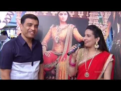 Dil Raju Speaks  Rudramadevi Trailer Premiere Show  Pre Launch