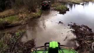 5. A ride out with the 2010 Arctic cat Mud Pro 700