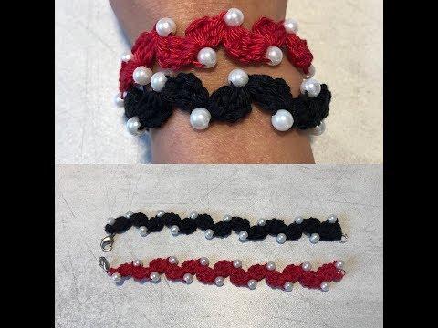 Tuto colier, bracelet au crochet