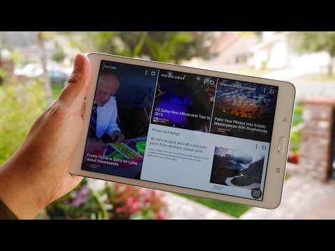 Magazine - The Magazine UX is a new feature of the updated Touchwiz for tablets, and Josh is here to show you how to use it. Music by Leandro Pulmones http://www.soundc...