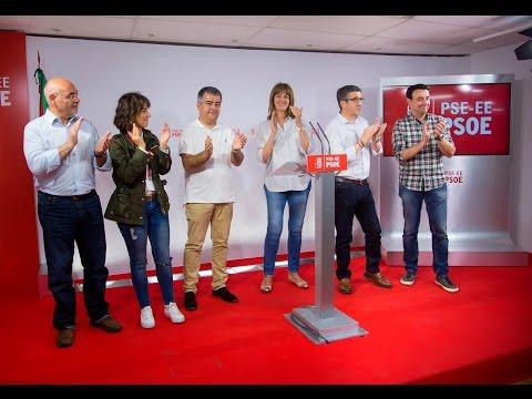 Idoia Mendia valoras los resultados de las elecciones generales #26J