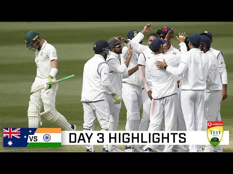 Superb India take control after Aussie batting disaster | Vodadone Test Series 2020-21