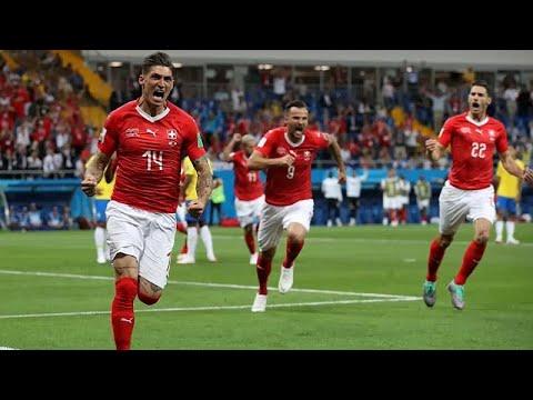 Fußball-WM: Schweiz ringt Brasilien ein 1:1 ab