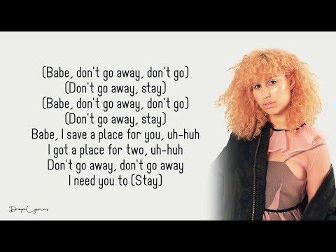 David Guetta, Raye - Stay (Don't Go Away)(Lyrics) 🎵