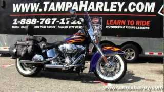 8. Used 2012 Harley Davidson Heritage Softail Classic Motorcycle for Sale Price and specs