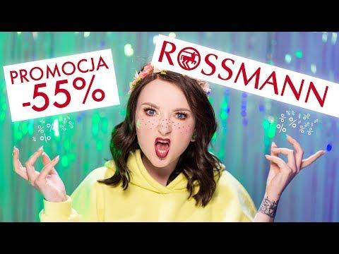 Promocja w ROSSMANNIE -55%
