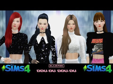 BLACKPINK - '뚜두뚜두 (DDU-DU DDU-DU)' M/V 【The Sims 4 Animation】